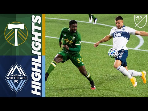 Portland Timbers vs Vancouver Whitecaps FC | November 1, 2020 | MLS Highlights