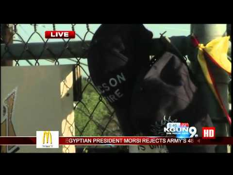 TFD Captain honors fallen firefighters in Prescott