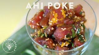 Hawaiian Ahi Poke Recipe - Honeysuckle Catering