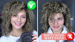 Video 4 CURLY HAIR DIFFUSING MISTAKES THAT EVERYONE MAKES + HOW TO FIX THEM MP3, 3GP, MP4, WEBM, AVI, FLV Juli 2019