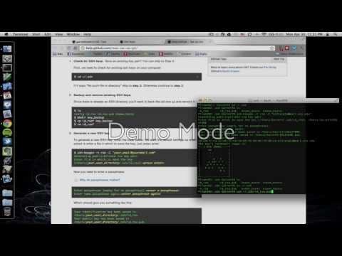 Use GitHub in XCode