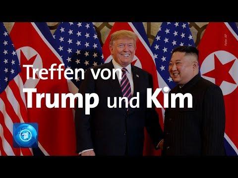 USA / Nordkorea: Trump und Kim treffen sich zu Gespräc ...