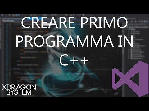 Visual Studio Tutorial - Ciao Mondo! - #15 - [C++] [ITA]
