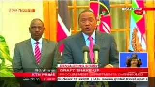 How allegations of graft has riddled Uhuru's cabinet forcing a reshufflement