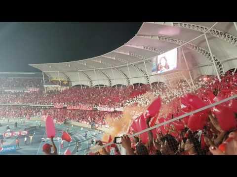Salida América VS Real Cartagena 07-nov-2016 - Baron Rojo Sur - América de Cáli