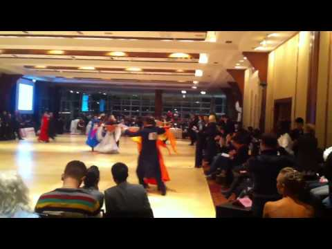 Ballroom Dance of NJ on MAC 01.18.2013 - Foxtrot by Greg & Jennifer