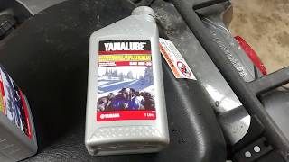 8. How to Change the Oil on a Yamaha Kodiak 700