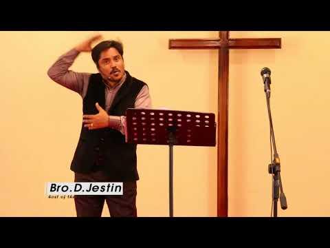 """"""" தேவனுடைய திட்டம்"""" (HD) Mar 17th 2018 Today's Promise with Bro.D.Jestin (видео)"""