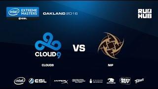 IEM Oakland - Cloud9 vs NiP - de_train - [Enkanis, yxo]