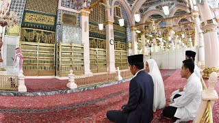 Video Presiden Jokowi Ziarah Makam Rasulullah SAW, Madinah, 15 April 2019 MP3, 3GP, MP4, WEBM, AVI, FLV April 2019