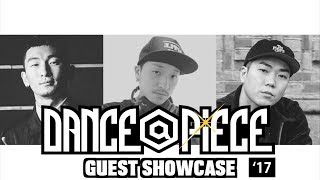 Hoan + Fire Bac + Han – DANCE@PIECE GRAND PRIX 2017 GUEST SHOWCASE (Another angle)