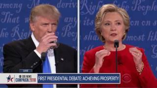 Video Full video: Trump-Clinton first presidential debate MP3, 3GP, MP4, WEBM, AVI, FLV Juli 2019