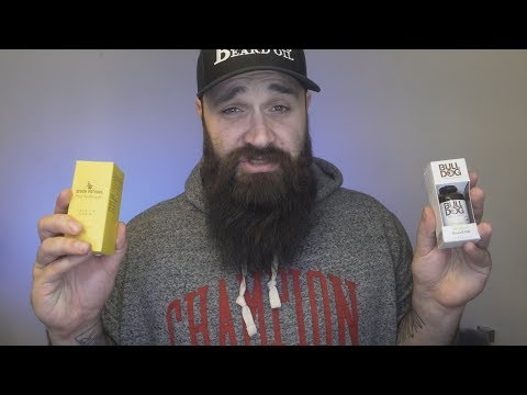 Beard Oil you can get in the UK  Seven Potions vs Bulldog