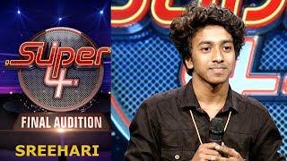 Video Super 4 I Sreehari- Final  Audition  I Mazhavil Manorama MP3, 3GP, MP4, WEBM, AVI, FLV Desember 2018