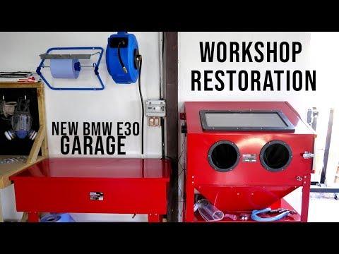 Workshop Restoration Build | New Lights And Tools! | BMW E30 325i Sport Restoration S2 E2