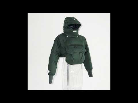 alk phenix 2019fw/zak short anorak / EPIC® × down(Silence/無音) видео