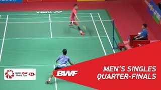 Video MS | Anthony Sinisuka GINTING (INA) vs CHEN Long (CHN) [3] | BWF 2018 MP3, 3GP, MP4, WEBM, AVI, FLV Mei 2018