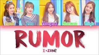 Video IZ*ONE (아이즈원) - Rumor (Han/Rom/Eng) Color Coded #Color*IZ Spoiler *PD48 VER. MP3, 3GP, MP4, WEBM, AVI, FLV April 2019