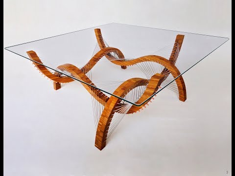 Tension-based furniture - Robby Cuthbert Design