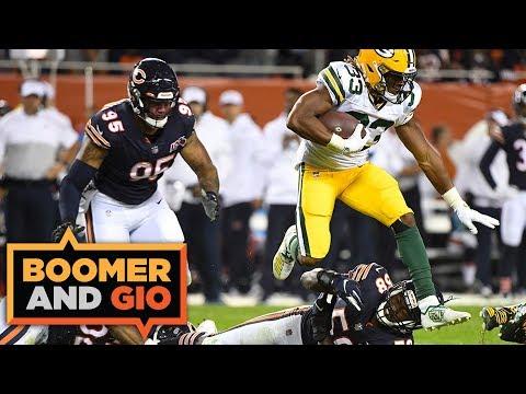 Video: Packers' defense PRESSURED Bears' Mitch Trubisky | Boomer & Gio