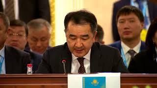 Премьер-министр Казахстана Сагинтаев раскритиковал «слабую таможню» Кыргызстана (видео)
