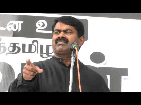 Seeman Protest Against Death Sentence For Indian Fishermen