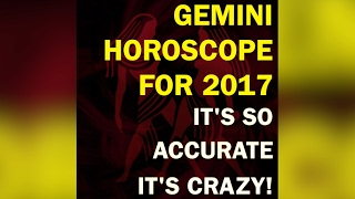 Are you a GEMINI? ♊  We've got a CRAZY accurate 2017 horoscope for YOU💖!If you enjoyed this please subscribe to our channel. It will help us make more beautiful videos. Thanks!