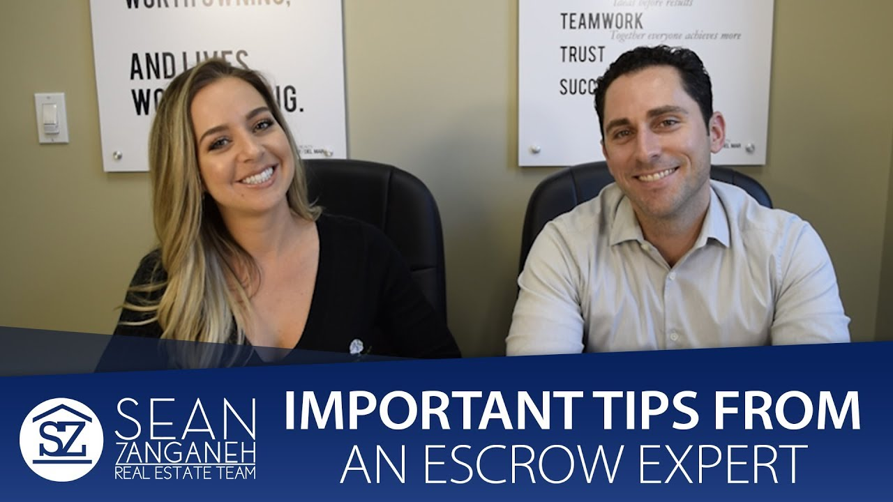 Answering 3 Common Escrow Questions