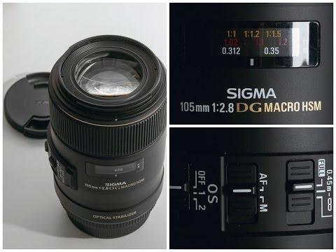 Личное мнение - Sigma AF 105mm f/2.8 EX DG OS HSM Macro Canon EF