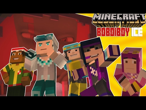 Minecraft Story Mode Full - Play As BOBOIBOY ICE!