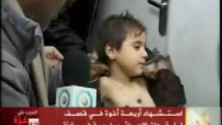 Al-Jazeera News Reporter Cries about the 4 Palestinian children