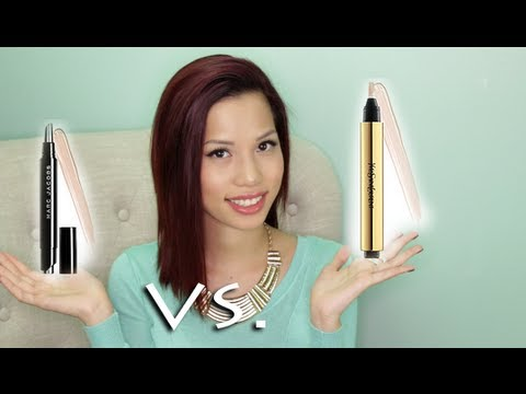 Marc Jacobs Remedy Concealer Pen vs YSL Radiant Touch Concealer Pen