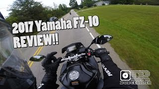 9. 2017 Yamaha FZ-10 - Test Ride & Review