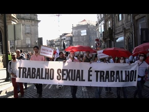 9 to 5 - Sex Work is a Job (2013) [Portugal, Subtitled] - the struggle for recognised and fully legalised sex work in Portugal