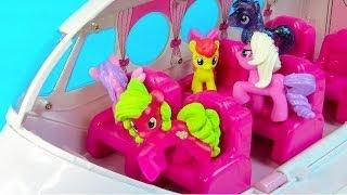 MLP Airport Missed Flight My Little Pony Travel Part 4 Rarity Pinkie Pie Apple Bloom