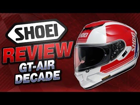Shoei GT-Air Decade Helmet Graphic Review from Sportbiketrackgear.com