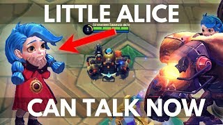 LITTLE ALICE AND JAWHEAD VOICE OVERS / DIALOGUE | Mobile Legends