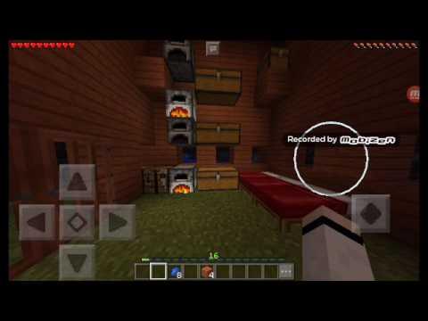 Minecraft Pe Survival Balık Tutma ve Tren Yolu Yaptım