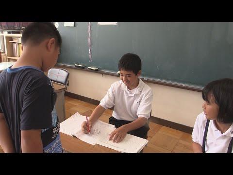 後輩たちの勉強サポート 那珂一中生 小学校訪ね2日間