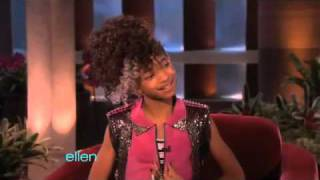 Willow Smith's Interview with Ellen - YouTube