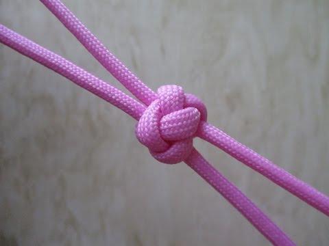 Плетение из паракорда. Узел Бриллиант.