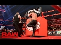 Kevin Owens attacks Chris Jericho during the Festival of Friendship Raw Feb 13 2017 waptubes