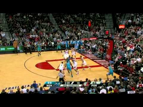 New Orleans Hornets 97 – Portland Trail Blazers 78