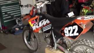 8. KTM 125 SX 2002 review