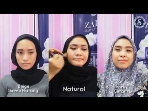 Zafesha Foundation Sesuai Semua Jenis Warna Kulit