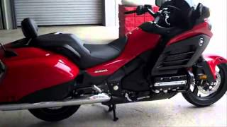 5. 2013 Honda F6B Deluxe Gold Wing SALE Red / IN STOCK at Honda of Chattanooga TN