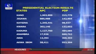 INEC Announces First Batch Of 2015 Presidential Election Results