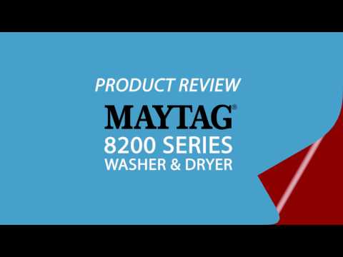 Standard TV & Appliance - Product Review - Maytag 8200 series washer & dryer