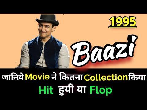Aamir Khan BAAZI 1995 Bollywood Movie LifeTime WorldWide Box Office Collection