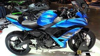 10. 2018 Kawasaki Ninja 650 - Walkaround - 2017 EICMA Milan Motorcycle Exhibition